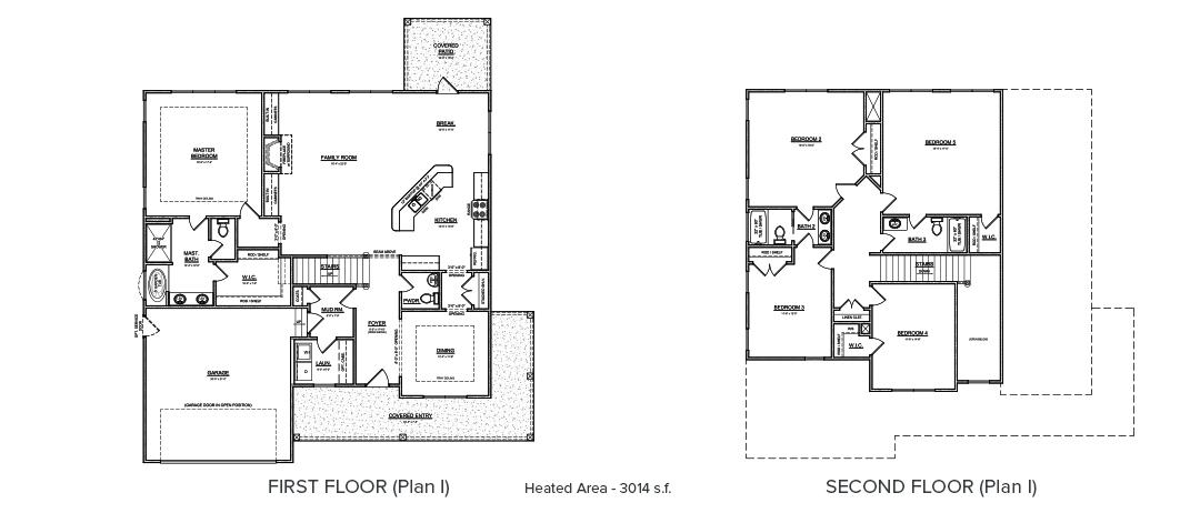 The Hickory Models Cornerstone Homes – Cornerstone Homes Floor Plans